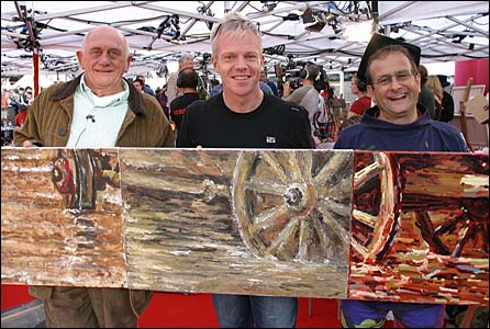 John Bardon, Mark Speight and Timmy Mallet