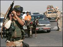 جندي اجنبي في العراق