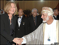 Israeli and Omani ministers meet