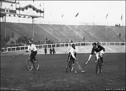 Ireland beat Germany 3-1 in the bicycle polo