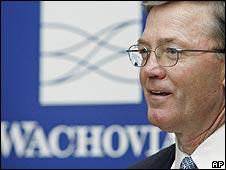 Wachovia chief executive Ken Thompson