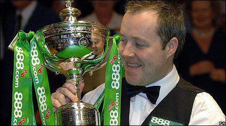2007 champion John Higgins