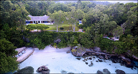 Ian Fleming's Goldeneye villa in Jamaica
