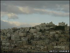West Bank town of Hebron