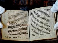 Manuscritos de San Agustín