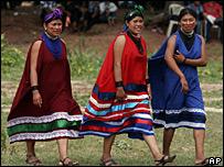 Indígenas guaraníes