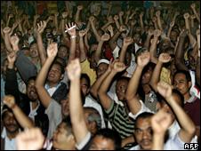 The rally in Kuala Lumpur (14 April 2008)