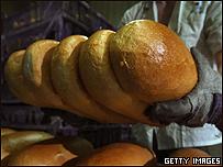 Pan reci�n sacado del horno