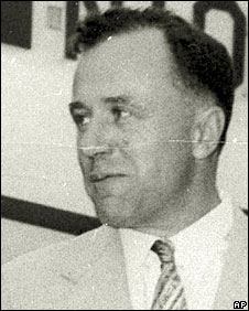 John Wheeler, file picture from 7 September, 1953