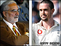 IS Bindra and Kevin Pietersen