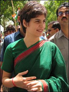 Priyanka Gandhi (Pic: Geeta Pandey)