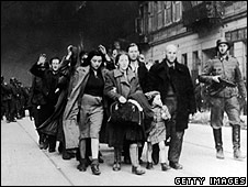 Jewish civilians who took part in the uprising, April 1943