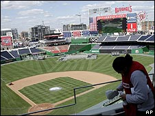 Washington's new baseball stadium, Nationals Park