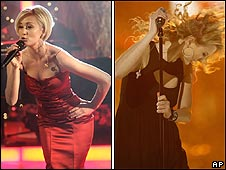 Kellie Pickler and Taylor Swift