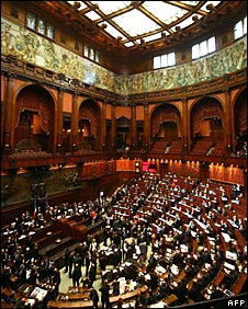 Italy's Chamber of Deputies