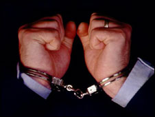 Man in handcuffs ( generic image)