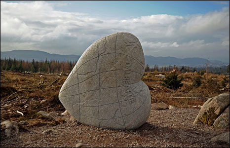 Seven Stanes sculpture - courtesy Forestry Commission