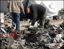 Scrap metal dealers in Kosovo export across Europe