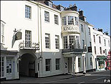 The King's Arms in Dorchester