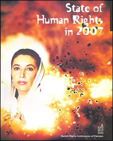 cover of human rights commission of pakistan's report for 2007