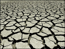 Drought-hit soil (Image: AP)
