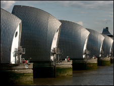 Thames barrier (Image: PA)