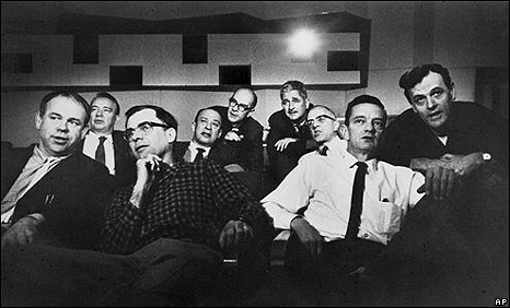 Disney's 'Nine Old Men' in the early 1950s