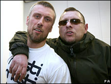 Bez, pictured with Shaun Ryder