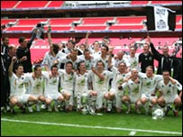 Truro City won the FA Vase in 2007