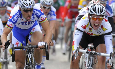Tom Boonen and Mark Cavendish