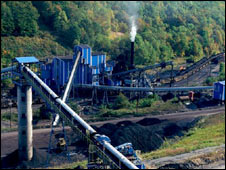 Coal mine in Virginia. File pic