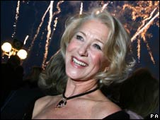 Dame Helen Mirren at the Ventura naming ceremony