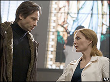 David Duchovny and Gillian Anderson in The X Files: I Want To Believe