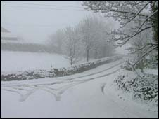 Snow in South Yorkshire