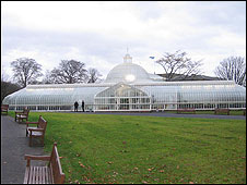The Kibble Palace at the Botanic Gardens