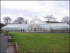 The Kibble Palace at the Botanic Gardens