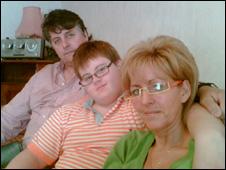 Jim, Jamie and Fiona Bauld