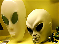 Máscaras de aliens