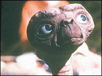 Imagen de la película ET