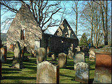 Alloway Auld Kirk before the renovation