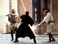 Scene from Star Wars Episode I: The Phantom Menace