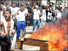 Violence in Kenya in January 2008