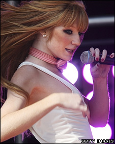Nicola Roberts from Girls Aloud