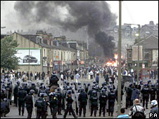 Bradford riots in 2001