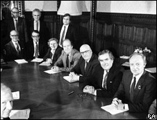Gwyneth Dunwoody in 1984/85 Shadow cabinet