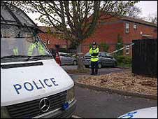 Police in Comb Paddock, Westbury-on-Trym