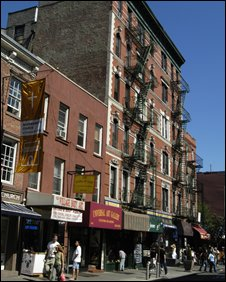 Greenwich Village housing block