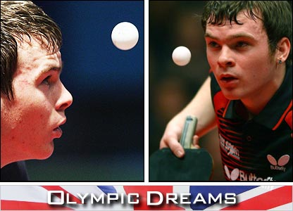 Olympic Dreams follows Paul Drinkhall going for the Olympics