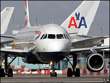 Planes at Heathrow (file pic)