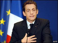 Nicolas Sarkozy - 18/4/2008
